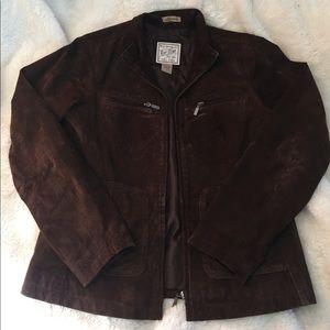 Brown Suede Jacket!